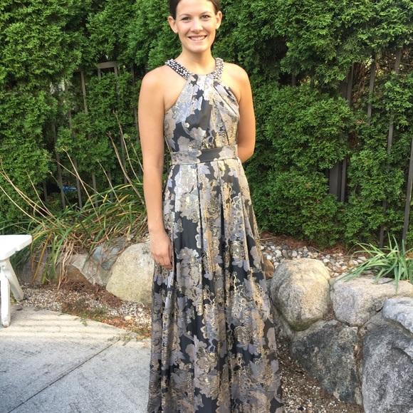 Nordstrom Dresses | Eliza J Beaded Halter